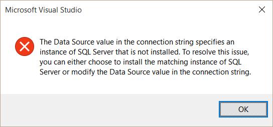 sql-instance-not-installed